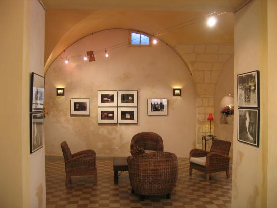 Hotel Du Musee: salle d' exposition