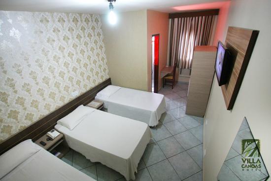 Hotel Villa Canoas: Triplo Standart