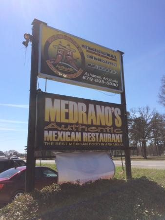Best Mexican in Ashdown.