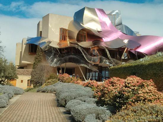 Hotel del complejo bodegas marqu s de riscal picture of - Arquitecto bodegas marques de riscal ...