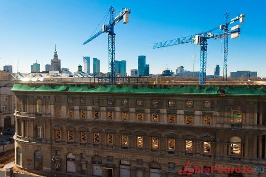 Hotel Bristol, a Luxury Collection Hotel, Warsaw: Warsaw is under construction ;)