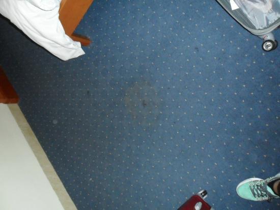 Santa Barbara Hotel : Stains in the carpet!