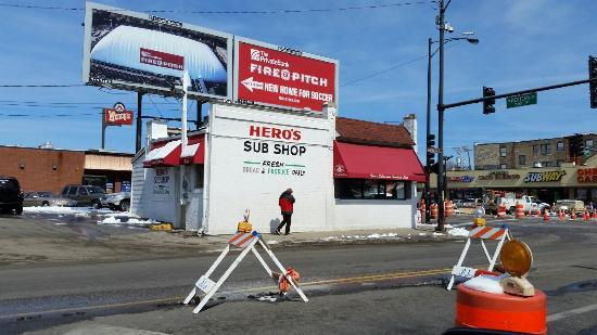 Hero's Submarine Sandwich Shop