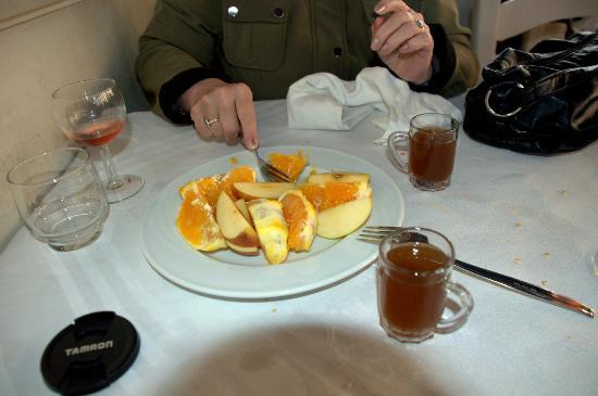 Le Lido : Orange and mint tea