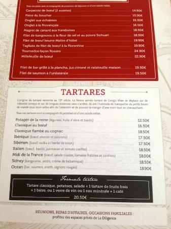 La Diligence : La carte des Tartares
