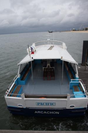 Les Pinasses du Bassin d'Arcachon  Tours : Notre embarcation
