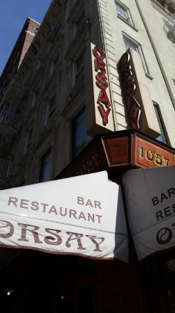 Orsay: outside