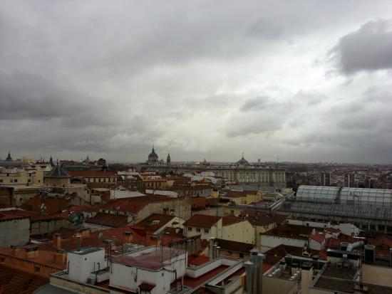 Desde La Terraza Picture Of El Rincon De Gran Via Madrid