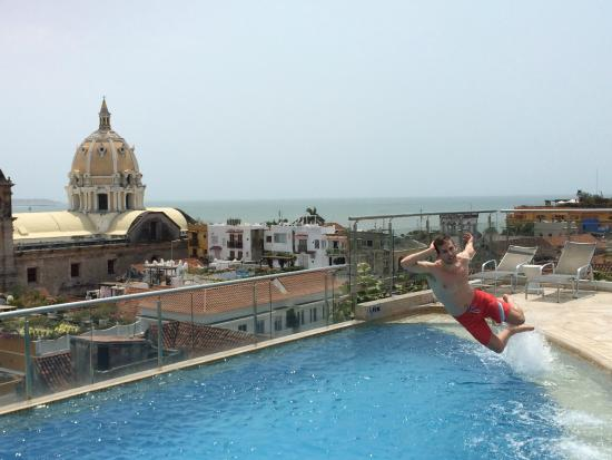 Movich Hotels Cartagena De Indias Roof Top Pool
