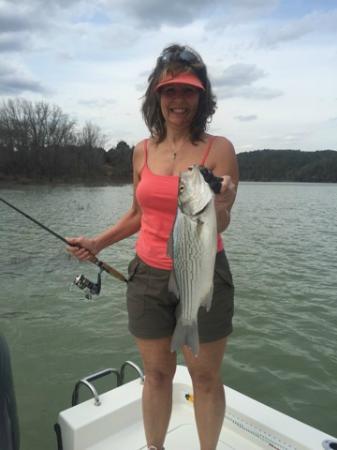 My fish foto di bud lady fishing guide service greers for My fishing advisor