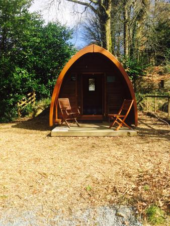 Langstone Manor Holiday Park & Cottages: Lovely pod!!!