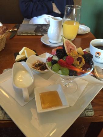 Port-na-Craig Inn : Delicious breakfast