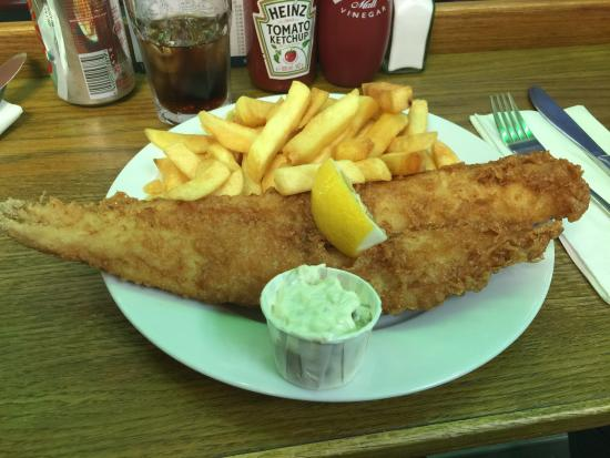 Fish and chips picture of baileys fish and chips london for Fish and chips london