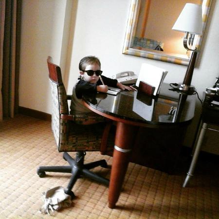 DoubleTree by Hilton Hotel Houston Downtown: escritorio