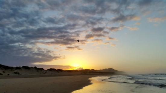 Myoli Beach Lodge: Amazing beaches - watching the sunrise