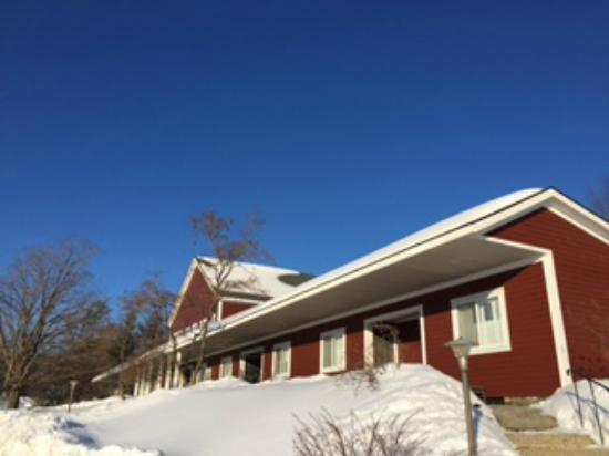 The Stamford Motel & Restaurant: Winter 2015 Exterior