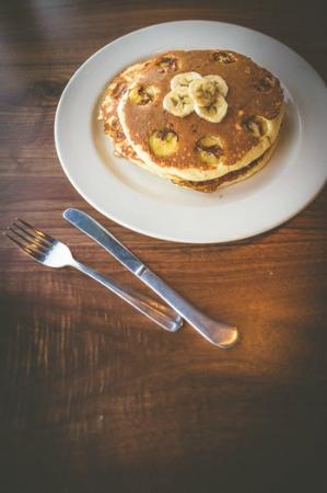 Maggie McFly's: Farm to Table Brunch: Banana Pancakes!