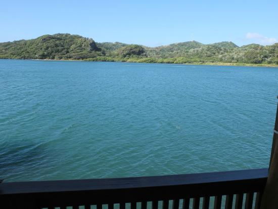 Castaways Cove : View from the deck: The extinct volcano