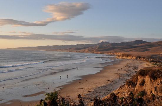 Jalama Beach near Lompoc (Photo Courtesy of ExploreLompoc.com)