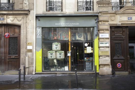 Izakaya Isse: façade du restaurant Isse