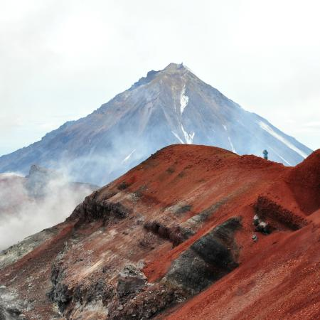 Tourist Company Volcanoes Land: Кратер вулкана Авачинский