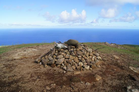 Maunga Terevaka : View from the summit of Terevaka