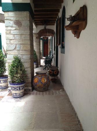 Meson Del Rosario : Un hotel pintoresco