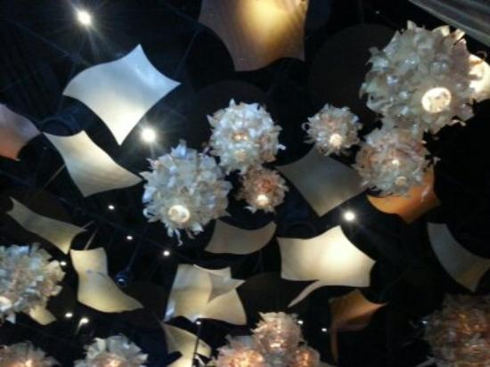 Hollywood Casino Toledo: decoration in one of the restaurants