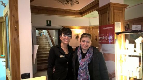 Hotel Garni La Maison Wellness & SPA: Eliana & Emanuela