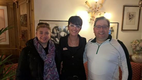 Hotel Garni La Maison Wellness & SPA: foto di gruppo prima della partenza... :-)