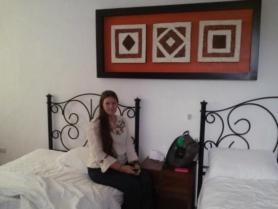 Hotel los Girasoles Cancun: Getting ready to check out after a clean and comfortable stay