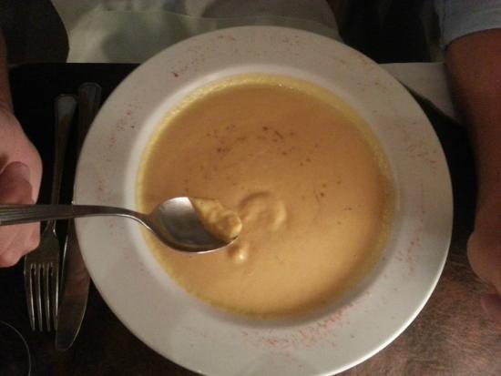 Sopa crema de puerro y calabaza - El Federal