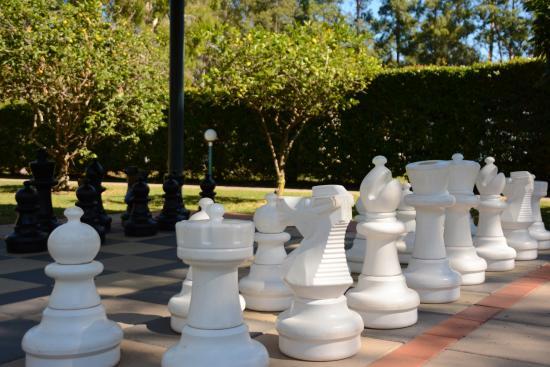 Ingenia Holidays Noosa: Life size Chess