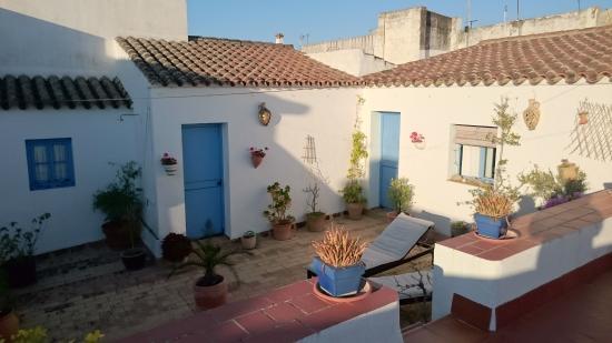 Casa Campana : la terrasse