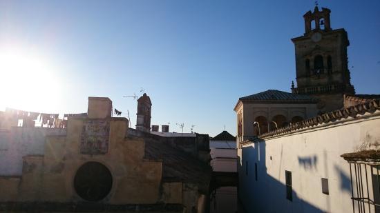 Casa Campana: vue depuis le petit dejeuner