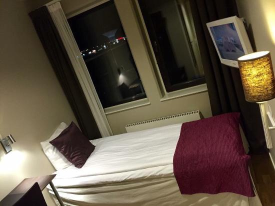 Hotell Fyrislund : Mitt rum - mysigt!