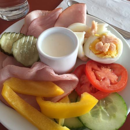 Hotell Fyrislund : Härlig frukost :)