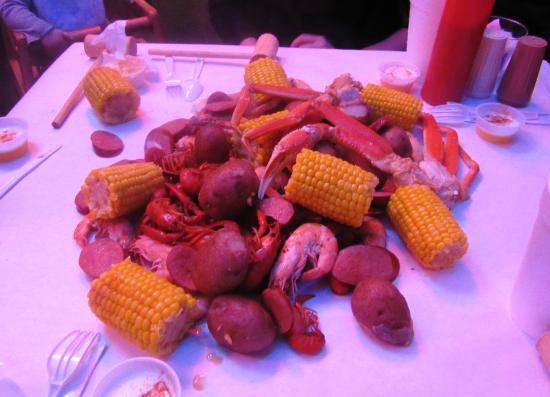 Crazy Cajun Seafood Restaurant: The Hungry Cajun option X 4