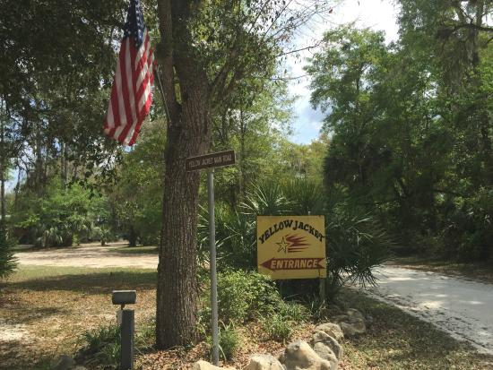 Entrance Picture Of Yellow Jacket Rv Resort Old Town