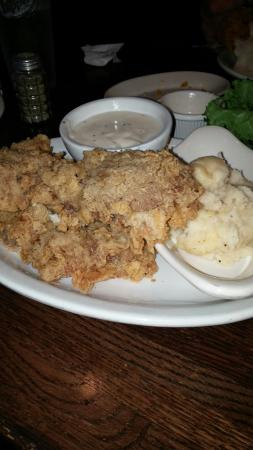 Hoffbrau Steaks: Chicken Fried and nice inside!