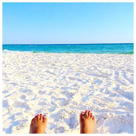 Hampton Inn Ft. Walton Beach : Beach area