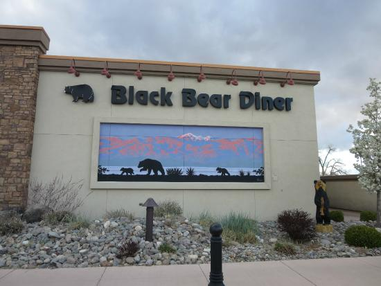 Black Bear Diner: The mural