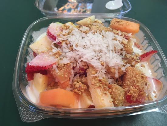 Bionico Fruit Salad Picture Of Paleteria Y Taqueria Las Palmas