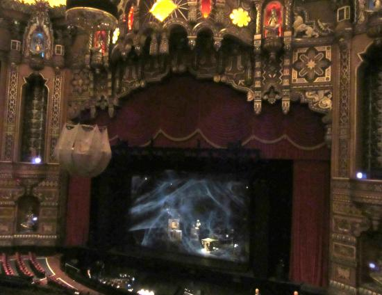 The Fox Theatre: getting ready to start