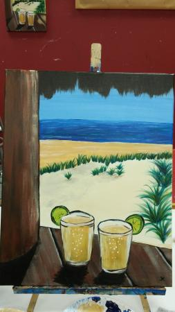 Bradenton, Floride : Two Beers on the Beach