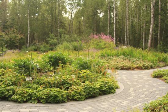 Garden Area Obr Zek Za Zen Alaska Botanical Garden