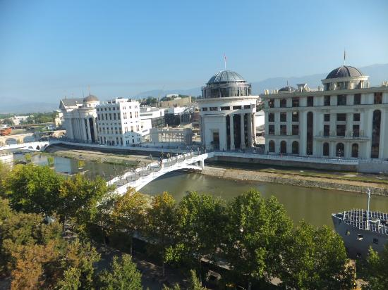 Holiday Inn - Skopje: buildings in daytime from the room