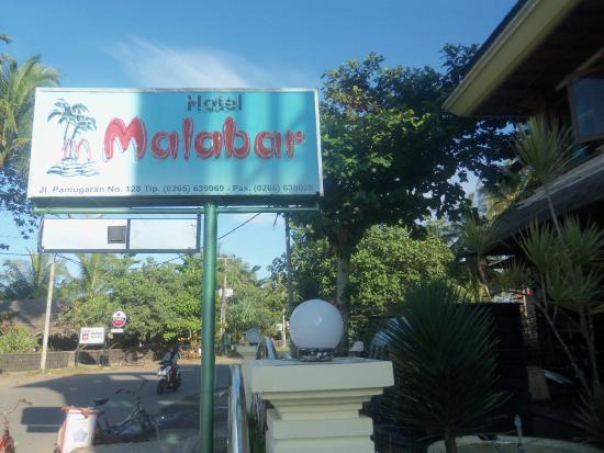 Hotel Malabar : Depan hotel