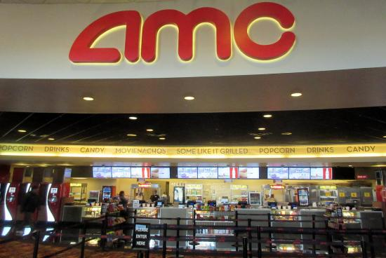Entrance and Snack Bar Area, AMC Cupertino, Ca