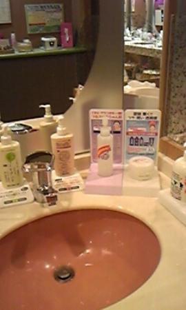 Rantei : 洗面化粧台にああるアメニティ